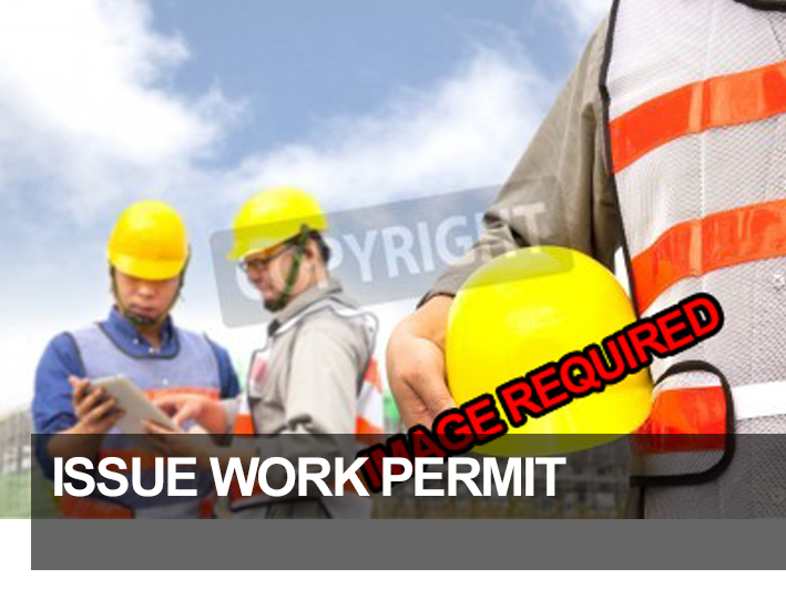 Issue Work Permit
