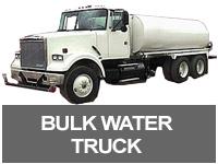 Bulk Water Truck