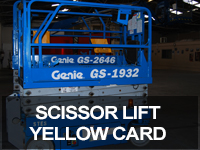 Yellow Card (Scissor/Boom) Lift